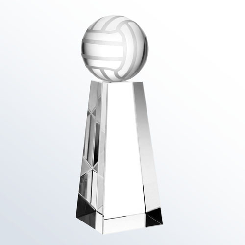 Championship Volleyball Trophy Small