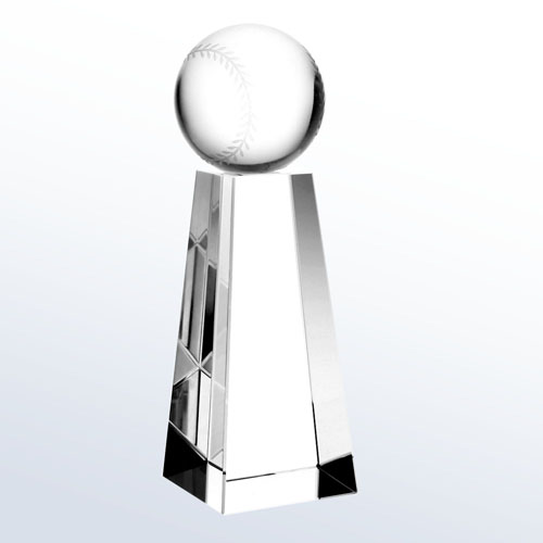 Championship Baseball Trophy Small